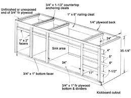 kitchen sink base cabinet sizes git designs