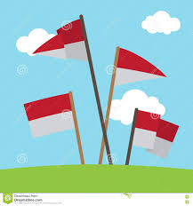 Flag Of Indonesia Image National Flag Of Indonesia Vector Stock Illustration Image 75641277