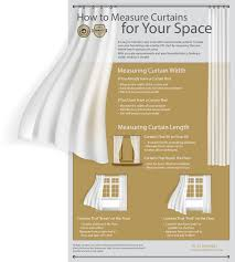 main curtains visual guide on how to measure curtains for your