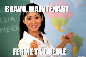Meme Francais - commentaire photo