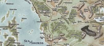 Map Of Faerun Journey To Candlekeep Alphastream