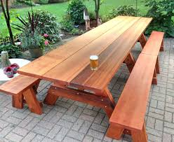 Plans For Building Picnic Table Bench by 100 Plans To Build A Children S Picnic Table Exteriors