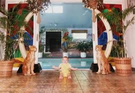 Simple Pool House Baby Photo Of Me Hanging Out At Rick James Superfreaky House In