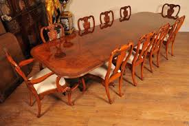 dining table set seats 10 regency walnut dining table set queen anne chairs tables suite