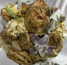 Preserve Wedding Bouquet Restoration Of Wedding Flowers And Documents After Being Water Soaked