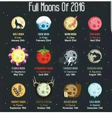 what is a strawberry moon full moons of 2016 wolf moon in leo january 24th snow moon in virgo