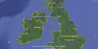 British Isles Map A Whistle Stop Tour Of The British Isles In Accents Video