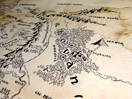 The Hobbit Map Lord Of The Rings The Hobbit Lotr Gondor Mordor Tolkien Maps