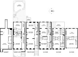 brownstone floor plans new york city 25 ft wide monroe pl brownstone brooklyn new york 7 750 000
