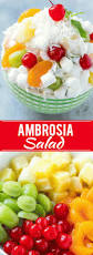 ambrosia salad dinner at the zoo