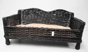 Wicker Beds Ergonomic Wicker Dog Bed 89 Wicker Dog Bed Canada Michur Sylt Grey