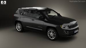 360 view of jeep compass 2013 3d model hum3d store