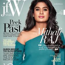 Women Magazine Mithali Raj Proves That She Can Be A Good Poster Off Field
