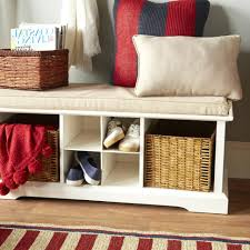 entryway bench with baskets and cushions bench entryway bench with storage entry door plans shoe coaster