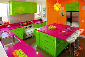 Kitchen Colour Design Ideas Small Kitchen Color Trends Bright Kitchens Rich Counter Space And