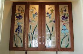 Custom Cabinet Doors Glass Furniture Custom Glass Cabinet Door Ideas Fabulous