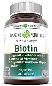 buy hair skin and nails vitamin supplement with biotin promotes