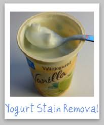upholstery stain removal how to remove yogurt stains