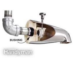 how to replace a bathtub spout family handyman