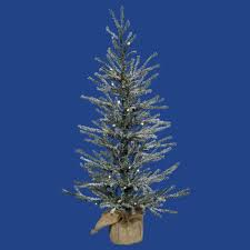 18 pre lit frosted pine artificial twig tree