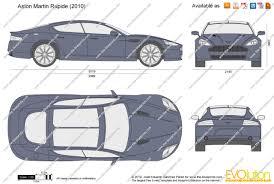 2012 aston martin rapide aston the blueprints com vector drawing aston martin rapide
