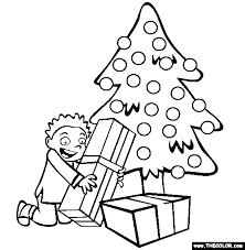 christmas online coloring pages page 1
