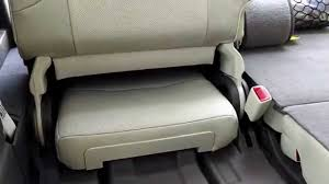 lexus lx car seat lexus gx460 3rd row seat review youtube
