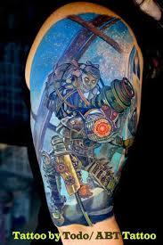 insanely detailed tmnt tattoo sprite stitch