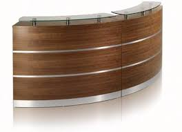 Modular Reception Desk Fusion Range Curved Or Square Modular Reception Counters