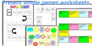 english teaching worksheets present simple games