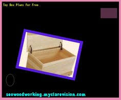 Small Toy Box Plans by Toy Box Plans Mdf 183146 Woodworking Plans And Projects