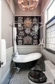 decorating ideas for small bathrooms bathrooms vintage bathroom with black clawfoot bathtub and