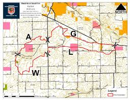 Washington Fire Map by Black Rock Fire Contained Most Smoke From Fire Near Yakima