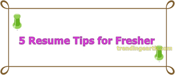get hired resume tips 5 resume tips for freshers to get hired