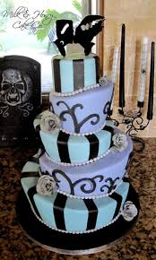 halloween wedding cake topsy turvy mad hatter tiers bride of