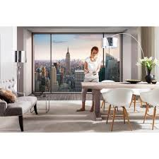 Dining Room Murals Komar 100 In X 145 In Penthouse Wall Mural 8 916 The Home Depot