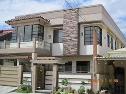 2 Storey House Designs Floor Plans Philippines by House Design Philippines Cost Two Storey Plans With Balcony Modern