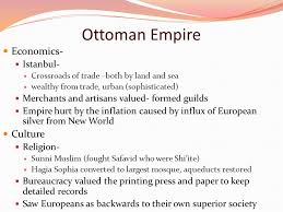 Economy Of Ottoman Empire Middle East Periods Ppt