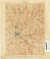 Syracuse Ny Map New York Topographic Maps Perry Castañeda Map Collection Ut