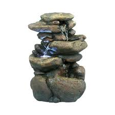 indoor rock water fountains crafty design 18 tabletop fountain