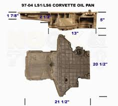 corvette pan tons of general ls information pan accessories cyl heads