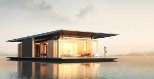 floating houses sustainable floating house concept delivers magic on water