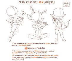 chibi tutorial character chibi kawai on drawing tutorial deviantart