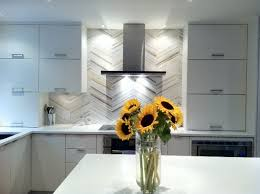Our Kitchen Backsplash Modern Kitchen Vancouver - Modern kitchen backsplash