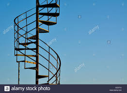 outdoor spiral stairs stock photos u0026 outdoor spiral stairs stock