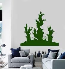 vinyl wall decal cactus desert plant room decoration stickers vinyl wall decal cactus desert plant room decoration stickers murals