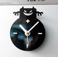 horloges cuisine cool mode creative petit ange diable réfrigérateur aimant horloges