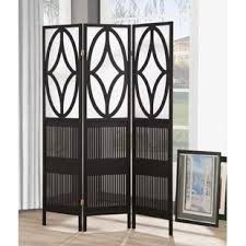 Tri Fold Room Divider Screens Dressing Screen Wayfair