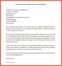 early lease termination letter bio example