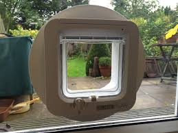 putting cat flap in glass door cat flaps fitted in glass in london